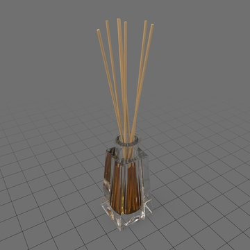 Aromatic reed sticks in glass bottle 5