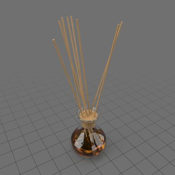 Aromatic reed sticks in glass bottle 4