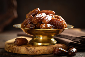 Dates fruits, healthy organic vegetarian food