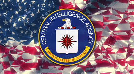 flag of the us central intelligence agency country symbol illustration Secret Service (CIA)