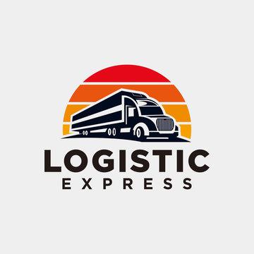 Truck logo design inspiration - Vector