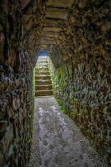 Interior de pirámide