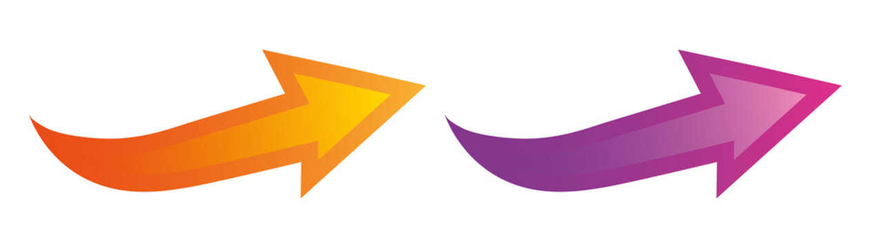 Two opposite arrows vector icon on a white background.
