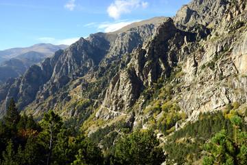 Queralbs to Refugi de Coma de Vaca Track, Pyrenees mountain range, Spain