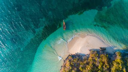 Spoed Fotobehang Zanzibar fumba island, zanzibar