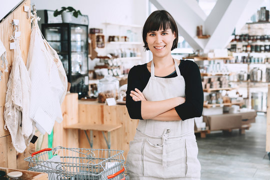 Small business owner. Seller of zero waste shop.
