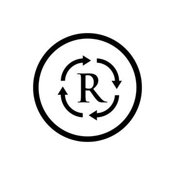 trash can icon vector design symbol