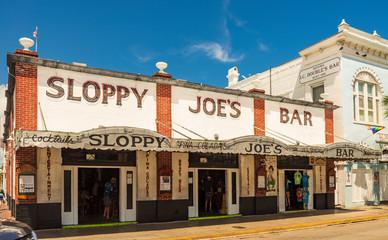 Sloppy Joe's bar in Key West