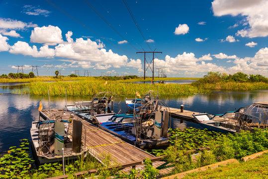 Florida Everglades airboat rides and alligators