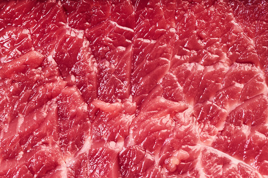 beef meat texture closeup