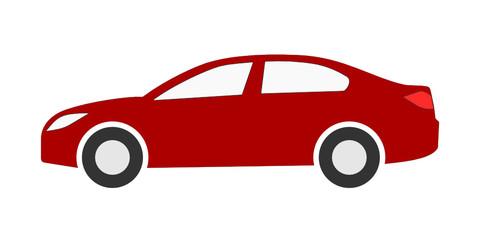 Obraz samochód osobowy ikona - fototapety do salonu