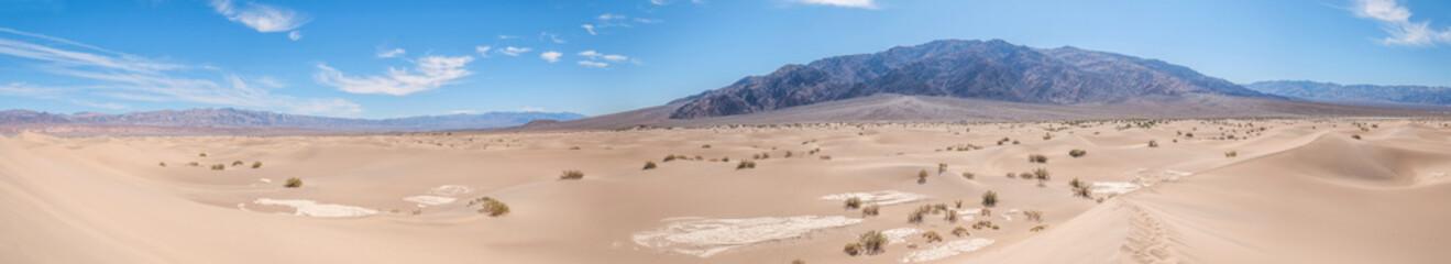 Panorama de la Vallée de la Mort en Californie Fototapete