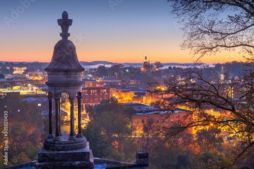 Fototapete Rome, Georgia, USA Downtown Historic Cityscape