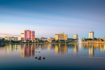 Fotomurales - Lakeland, Florida, USA Skyline