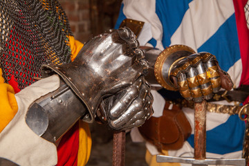 medieval iron armor for knights and warriors
