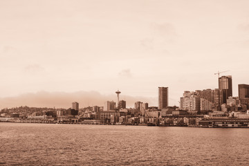 View of Seattle old picture