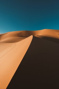 The desert, Morocco
