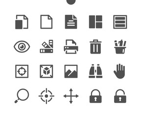 Design v4 UI Pixel Perfect Well-crafted Vector Solid Icons 48x48 Ready for 24x24 Grid for Web Graphics and Apps. Simple Minimal Pictogram