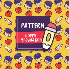 pattern_school_happy_graduation