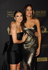 Eva Longoria, Dania Ramirez at arrivals for 30th Anniversary Associates for Breast and Prostate Cancer Studies (ABCs) Talk of the Town Gala