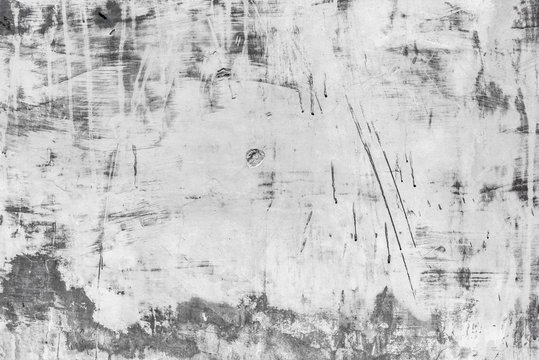 Scratch textured background of concrete wall for abstract background and texture.