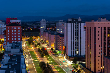Salburua neighborhood of Vitoria-Gasteiz, Spain