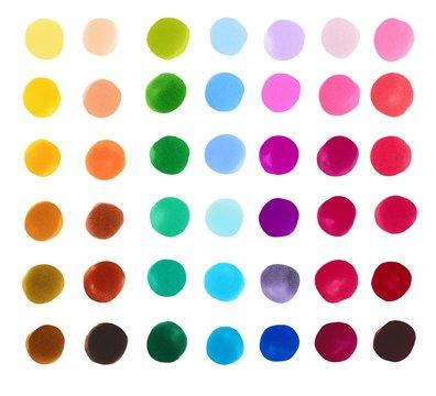 Markers color palette