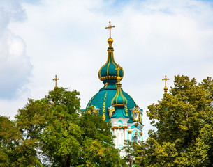Wall Murals Kiev The dome of the church