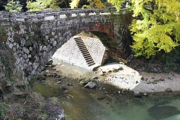 二俣橋ハートのシルエット