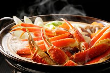 カニ鍋 Japanese style crab hot pot