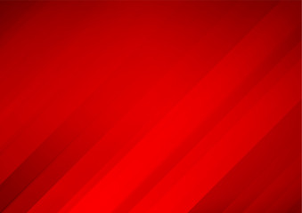 Abstract red vector background with stripes Fototapete
