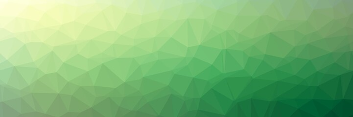 Triangles background abstract illustration. Colors: jungle green, forest green, green, tropical rain forest, asparagus.