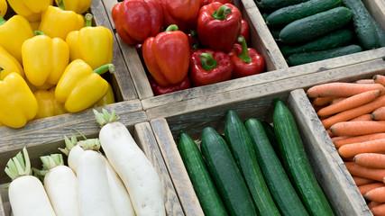Markt, Gemüse, Supermarkt
