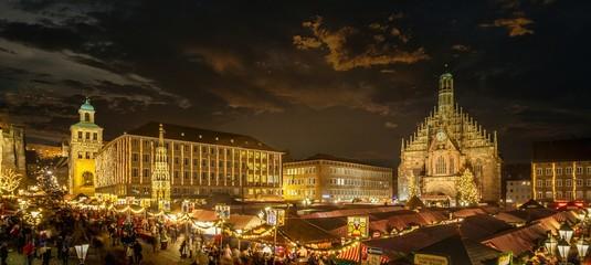 Nürnberger Christkindlesmarkt Fototapete