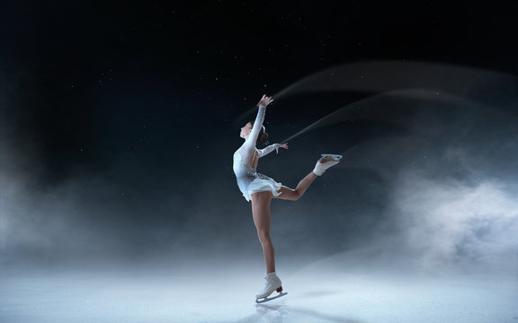 Figure skating girl.