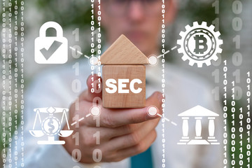 SEC Security Exchange Committee. Independent agency of United States federal government.