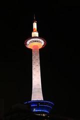 京都タワー ライトアップ