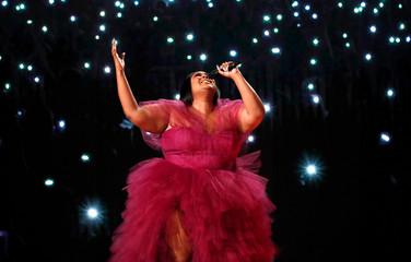 2019 American Music Awards – Show– Los Angeles, California, U.S., November 24, 2019 – Lizzo performs.