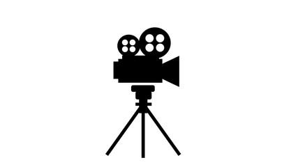 Fototapeta movie projector icon obraz