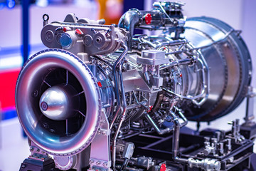 Gas industry. Gas equipment. Turbine for pumping natural gas. Fuel supplies to industrial enterprises. The pumping of fuel. Industrial concept. Complex equipment. Manufacture of turbines.
