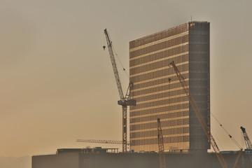 17 Nov 2019 West Kowloon Cultural Centre under Construction.