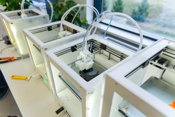 Fototapeta 3d printer isolated. 3d printing technology obraz