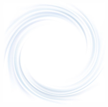 Vector background of cobalt swirling water texture
