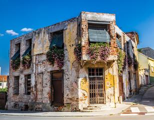 Destroyed Building - Vukovar, Podunavlje, Croatia