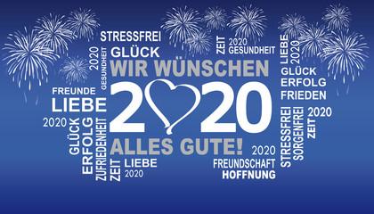 gute wünsche für 2020