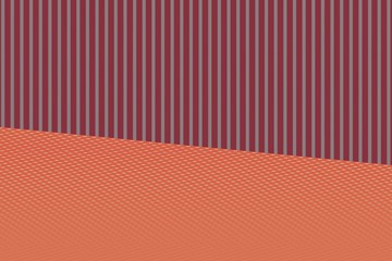 red and orange background with stripes computer generated illustration