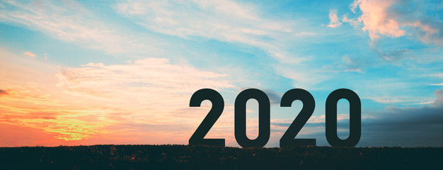 New year 2020 Fotomurales