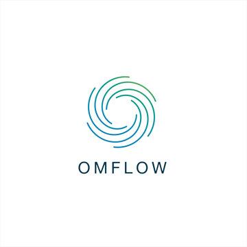 Flow Yoga Logo Design Inspiration