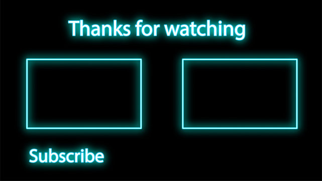 blue neon outro download