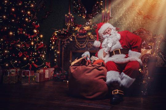 Santa brought gifts
